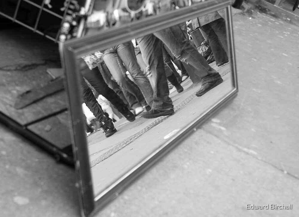 mirrored feet 2 by Edward Birchall
