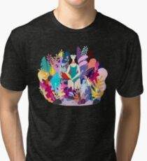 Spring herbarium Tri-blend T-Shirt