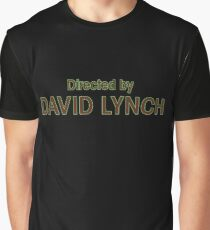 Directed by David Lynch Graphic T-Shirt