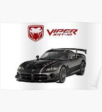 DODGE VIPER SRT-10 ACR Poster