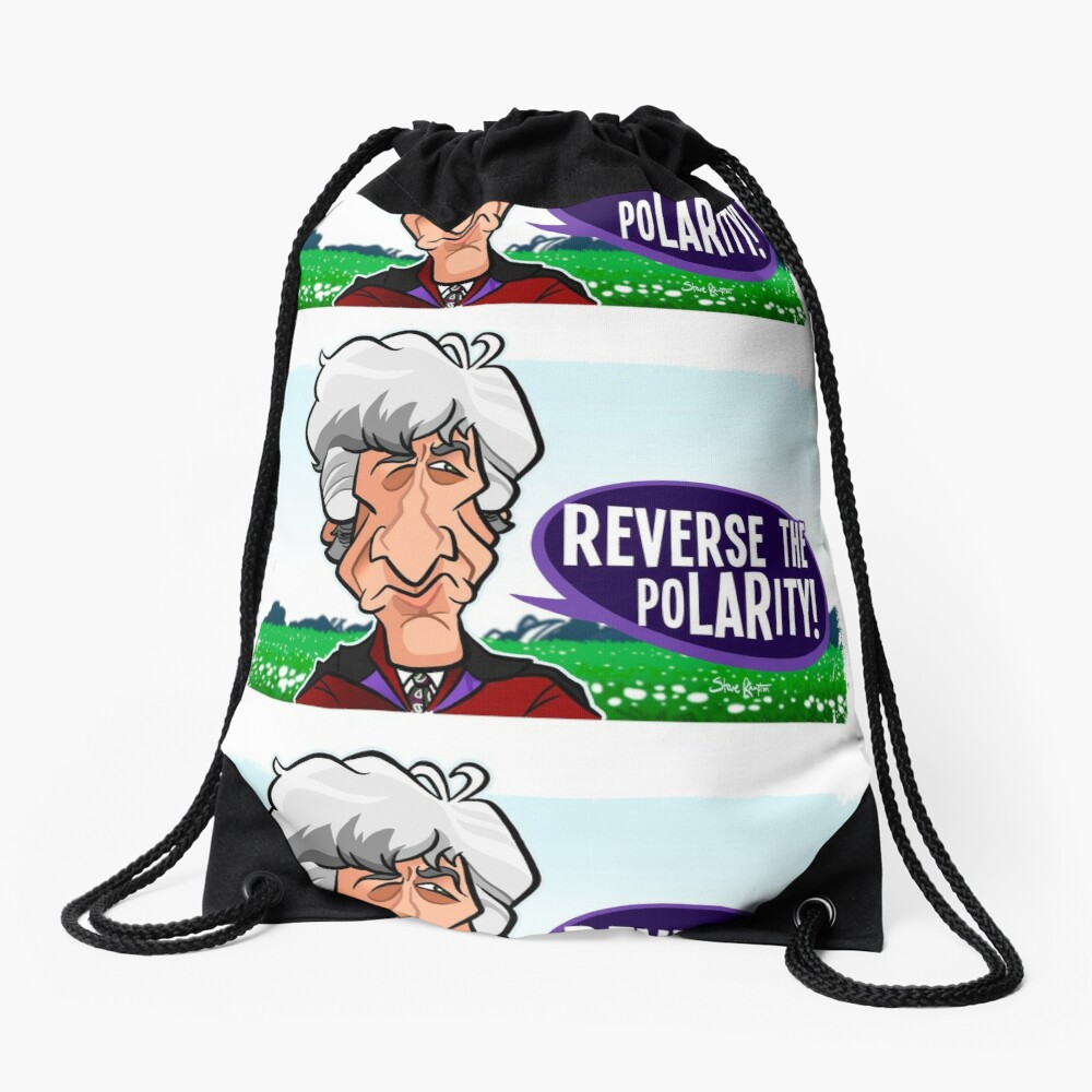 Reverse the Polarity Drawstring Bag