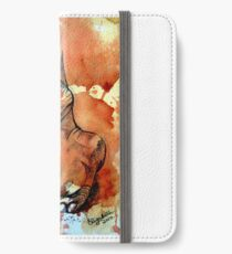 Barefoot in the rain iPhone Wallet/Case/Skin
