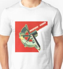 Soviet Poster - Factory at Samara (1931) Unisex T-Shirt