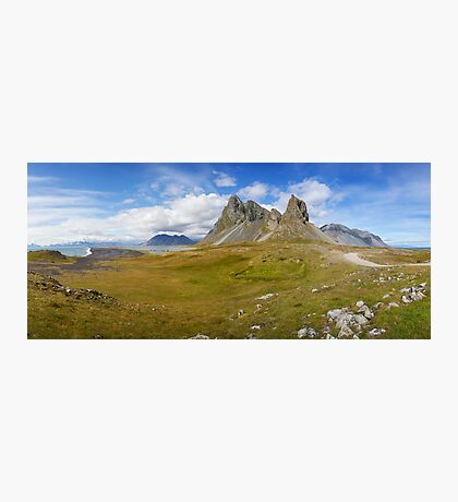 Iceland Panorama Photographic Print