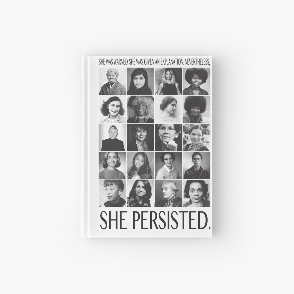 Nevertheless, She Persisted Hardcover Journal