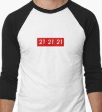 Sup reme 21 Savage Men's Baseball ¾ T-Shirt
