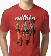 tomb raider Tri-blend T-Shirt