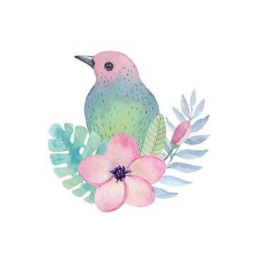 Tropischer Vogel von BekkaCampbell