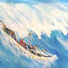 "HANGIN' ON @ PEʻAHI...""JAWS"" by WhiteDove Studio kj gordon"