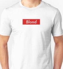 Supr eme Blond Box Logo Frank Ocean Unisex T-Shirt