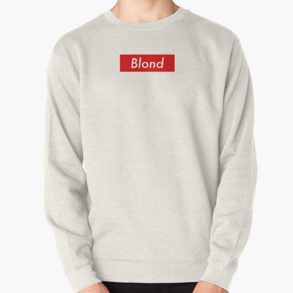 Supr eme Blond Box Logo Frank Ocean Pullover Sweatshirt