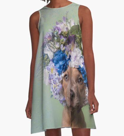 Flower Power, Kyla A-Line Dress