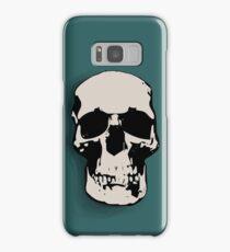 Skull - Sherlock Samsung Galaxy Case/Skin