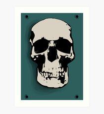 Skull - Sherlock Art Print