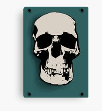 Skull - Sherlock Canvas Print