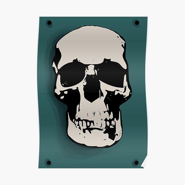 Skull - Sherlock Poster