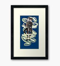 Doctor Who - Regeneration Framed Print
