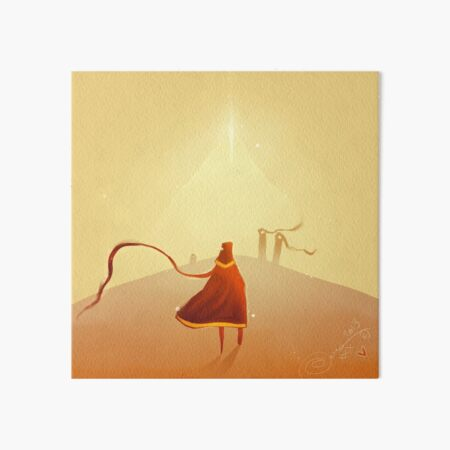 Journey Art Board Print