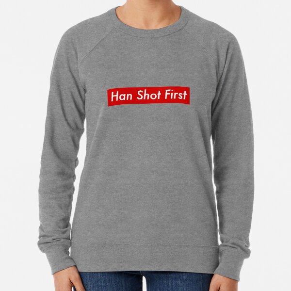 Supr eme Han Shot First Bogo Lightweight Sweatshirt