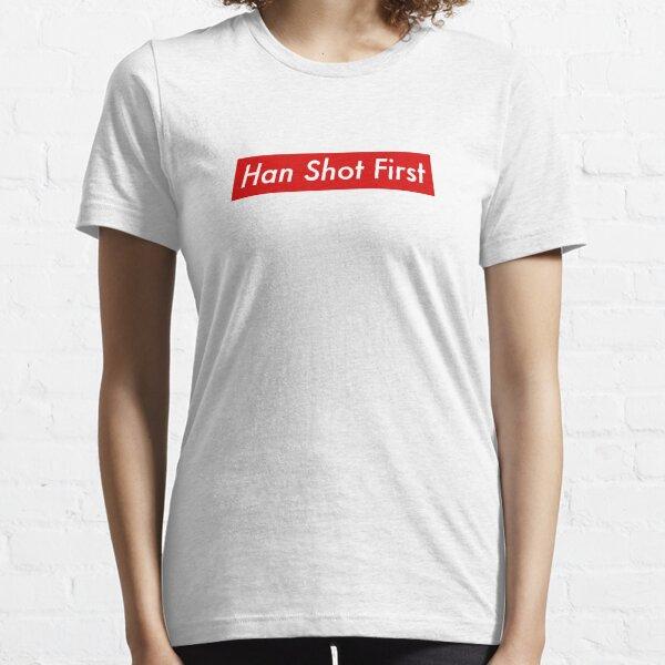Supr eme Han Shot First Bogo Essential T-Shirt