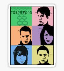 Torchwood Pop Art Sticker
