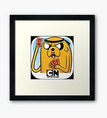 cartoon network Framed Print