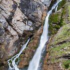 Savica Waterfall by Dominika Aniola