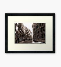 London--28 days later-esque Framed Print