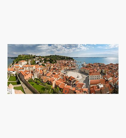 Piran panorama Photographic Print