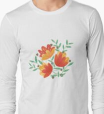 Light Afternoon Blossoms Long Sleeve T-Shirt