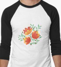 Light Afternoon Blossoms Men's Baseball ¾ T-Shirt
