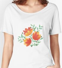 Light Afternoon Blossoms Women's Relaxed Fit T-Shirt