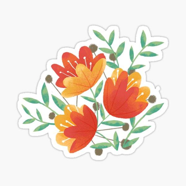 Light Afternoon Blossoms Sticker