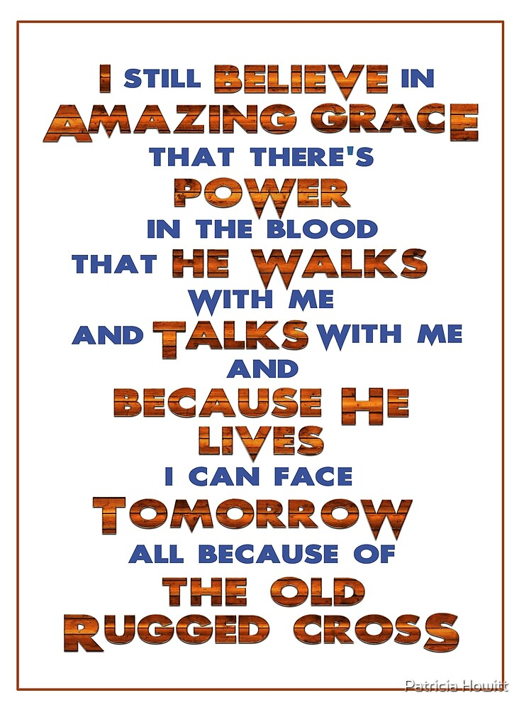 Amazing Grace by Patricia Howitt