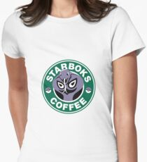 Starboks Coffee Womens Fitted T-Shirt