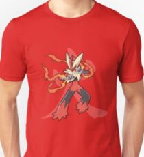Blaziken With Fire Kanji T-Shirt