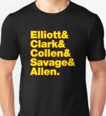 elliot clark collen savage and allen T-Shirt