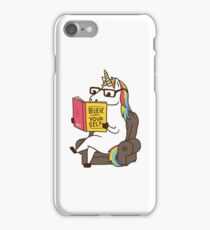 Unicorn Believe in Yourself Magical Fabulous iPhone Case/Skin