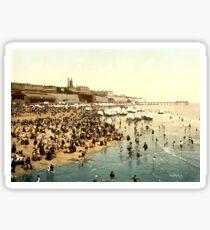 victorian beach england britain britainnia  Sticker