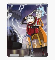 Rick & Morty - Back To The Future Crossover Mashup iPad Case/Skin
