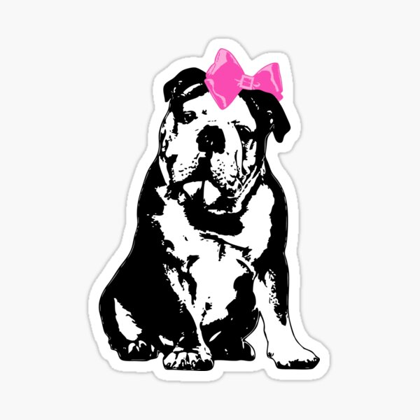 Betty Bulldog Sticker