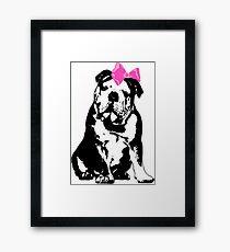 Betty Bulldog Framed Print