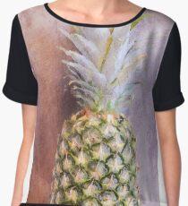 Pineapple 6 Chiffon Top