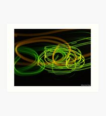 Motion Series III Art Print