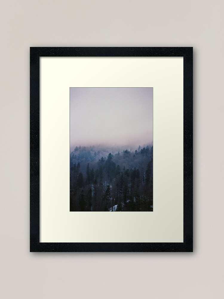 Alternate view of Home again Framed Art Print