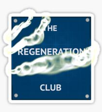 Doctor Who - Regeneration Sticker