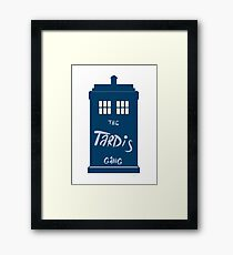 The Tardis - Doctor Who Framed Print