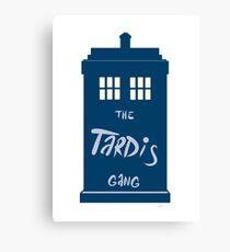 The Tardis - Doctor Who Canvas Print