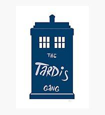 The Tardis - Doctor Who Photographic Print
