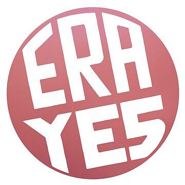 ERA YES Pink Logo by starkle